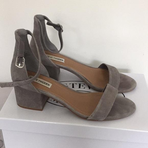 Steve Madden Shoes | Irenee Grey Suede